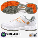 【即納】WIMBLEDON ウィンブルドン テニスシューズ レディース 全2色 WL3500 WL-3500 ジュニア オールコ...
