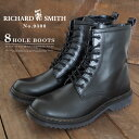【即納】RICHARD SMITH リチャード・スミス 8ホールブーツ 9300 メンズ サイドジッ...