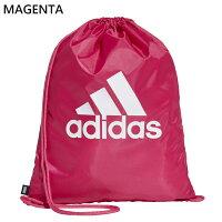 ジムバッグキッズアディダスadidasビッグロゴジムバッグFSX22FSX23FSX24ジムサックスポーツバッグナップザックリュック子供部活クラブ鞄かばん