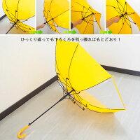 傘キッズ再帰反射イルミナイト子ども用傘KSSKC55094子供用スクール傘55cm透視窓さかさかさ丈夫