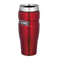 サーモスTHERMOS真空断熱タンブラーROD-001アウトドア用品レジャーオフィス保温保冷キャンプ用品運動会体育祭コーヒー魔法びん丸洗い可能