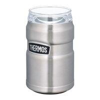 サーモスTHERMOS保冷缶ホルダーROD-002メンズレディースアウトドアレジャーオフィス保冷キャンプ用品運動会体育祭ビール魔法びん丸洗い可能