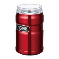 サーモスTHERMOS保冷缶ホルダーROD-002アウトドア用品レジャーオフィス保冷キャンプ用品運動会体育祭ビール魔法びん丸洗い可能家キャンプおうちキャンプリモート飲み会家飲み