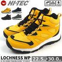 アウトドアシューズ 防水靴 メンズ レディース ハイテック HI-TEC LOCHNESS WP H...
