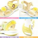 ディズニー Disney サンダル DN C1251 キッズ 子供靴 ディズニープリンセス キラキラ お花 リボン 抗菌防臭 軽量 3