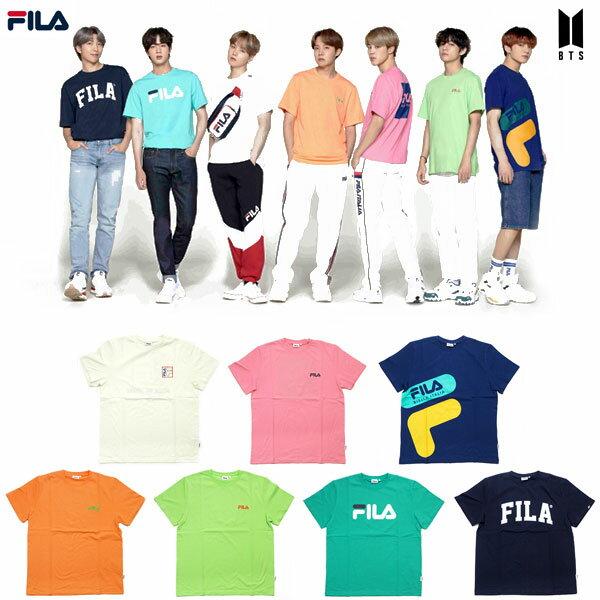トップス, Tシャツ・カットソー FILA x BTS L-Holder FILA T FM9357 7