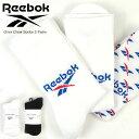 Reebok リーボック 靴下 Classics Fold Over Crew Socks 3 Pairs IRX76 GG6683 GG6684 シューズ関連アイテム クラシックス フォールドオーバー クルー ソックス 1
