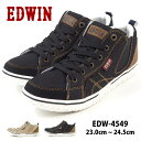 エドウィン EDWIN スニーカー EDW-4549 レディ