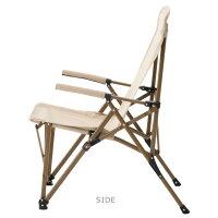 ロゴスLOGOS折りたたみチェアTradcanvasポータブルダイニングチェアNo.73173161アウトドア用品アウトドアチェア折りたたみ椅子肘掛けレジャーBBQバーベキュー