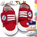 【即納】 Arnold Palmar アーノルドパーマー スニーカー キッズ 全4色 AP0118 ベビー ファーストシューズ 赤ちゃん 子供靴 男の子 女の子 ベルクロ お祝い