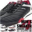 スニーカーローカットメンズ全2色L6225紳士男性LARKINS