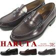 【送料無料】HARUTA ハルタ ローファー メンズ 全2色 6550 コインローファー 3E 学生靴 通学 靴