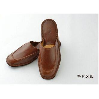 男式女式拖鞋皮革室內拖鞋