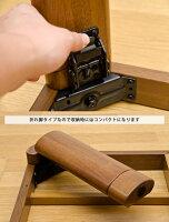 こたつ80×80cmコタツ継ぎ脚折りたたみ折れ脚折り畳みブラウンナチュラル丸角シンプルテーブルちゃぶ台家具調折れ脚コタツ継脚式
