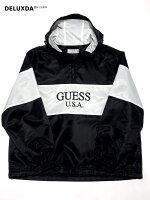 【GUESSGREENLABEL】GRSS19-004BLACKロゴパーカー