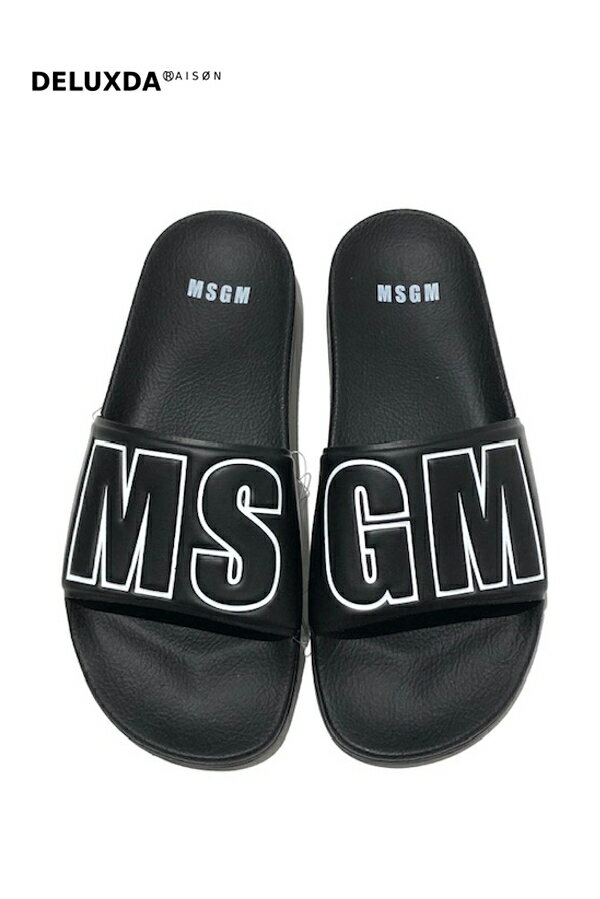 MSGM(エムエスジーエム) サンダル (4092)BLACK画像