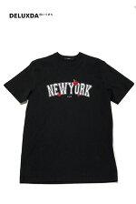 【STAMPDスタンプド】SLA-M2599FTNEWYORKLOVETEE刺繍プリントTシャツ