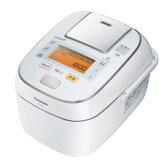 Panasonic パナソニック 【SR-PW105-W】SRPW105-W 可変圧力IHジャー 炊飯器(5.5合炊き) ホワイト【KK9N0D18P】