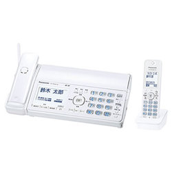 Panasonic パナソニック【KX-PD505DL-W】KXPD505DL-W ホワイト デジタルコードレス普通紙ファクス(子機1台付き)