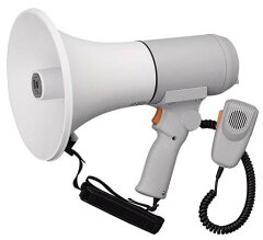 拡声器 ハンドル付 ショルダーメガホン 大型 15WER-3115 TOA製 拡声器 ハンドル付 ショルダーメ...