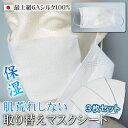 シルク マスク マスクフィルター シルク100% 日本製 洗...
