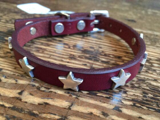 DOGLA ドグラ小型犬用カラースターブラウン8inc