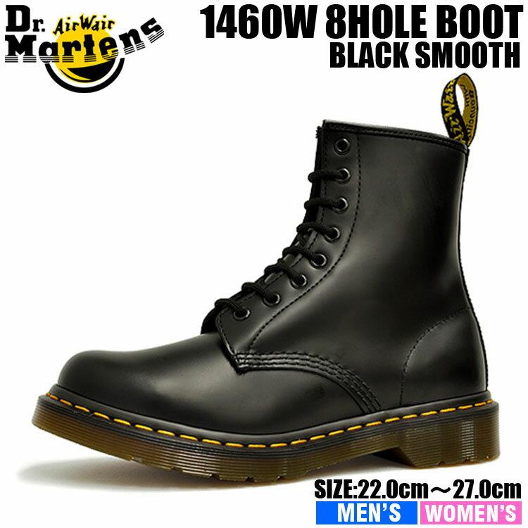 1460 W in Black Smooth - R11821006