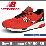 �˥塼�Х�󥹥�å�/�֥�å�CM1600RBD�磻��NewBalanceRED/BLACK