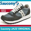サッカニー スニーカー レディース ジャズ オリジナル ネイビー/シルバー Saucony JAZZ ORIGINAL NAVY/SILVER 1044-2