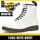 ドクターマーチン (Dr. Martens)8ホール ブーツ ホワイト メンズ R11822100 1460 8 Hole Boot