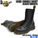 ドクターマーチン 10ホール メンズ 1490 ブーツ ブラック Dr.Martens 1490 10HOLE BOOT BLACK 11857001