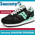 サッカニー スニーカー レディース シャドウ オリジナル ブラック/アクア Saucony SHADOW ORIGINAL BLACK/AQUA S1108-615