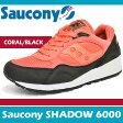 サッカニー スニーカー メンズ シャドウ 6000 コーラル/ブラック Saucony SHADOW 6000 CORAL/BLACK S70007-71