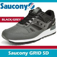 サッカニースニーカーメンズグリッドSDブラック/グレーSauconyGRIDSDBLACK/GREYS70217-3