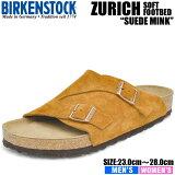 ビルケンシュトック サンダル メンズ チューリッヒ ビーエス ソフトフットベッド ミンク BIRKENSTOCK ZURICH BS SOFT FOOTBED MINK 1009534 1009535