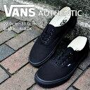VANS ヴァンズ オーセンティック 黒 靴  スニーカー ...