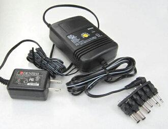 可變直流電源供應器 (1.5/3.0/4.5/6.0/7.5/9.0VDC-1A)