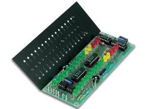 【送料無料】電子工作キット(2×15LEDステレオVUメータ)K4306