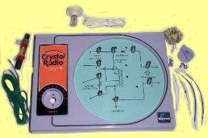 クリスタルラジオキット