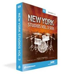 クリプトン・フューチャー・メディア SDX NEW YORK STUDIO VOL.3 ソフトウェア音源(SUPERIOR DRUMMER 2.0 拡張音源) NYV3SDX【納期目安:1週間】