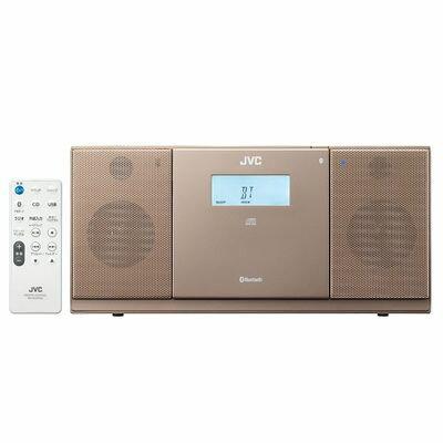 ビクター BluetoothR、CD、USB、FM/AMチューナーを搭載 コンパクトコンポーネントシステム(ブラウン) NX-PB30-T