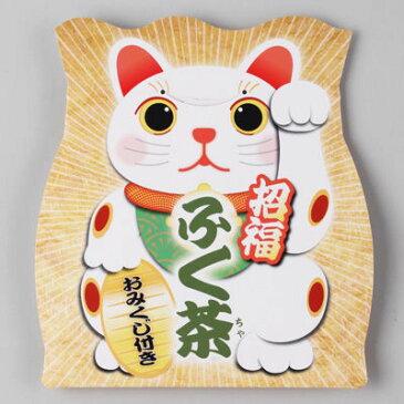 三盛物産 【100個セット】招福 ふく茶(麦茶) [麦茶パック10g×2、おみくじ] SFM-12 4944861001331