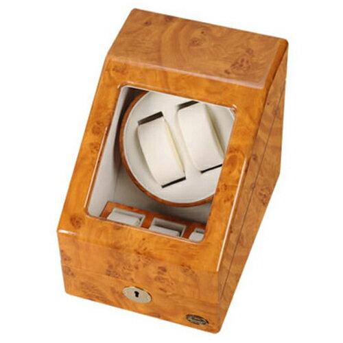 LUHW(ローテンシュラガー) 逸品が奏でる回転リズム!木製2連LEDワインディングマシーン LU20001RW