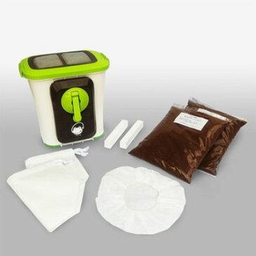 エコ・クリーン 電気を使わない家庭用生ごみ処理機 エコクリーン 自然にカエル基本セット SKS-101