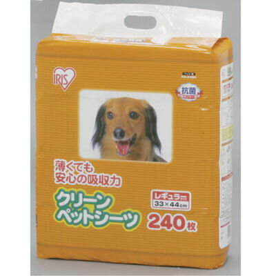 アイリスオーヤマ 【4個セット】クリーンペットシーツ レギュラー NS-240N