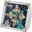 【コンビニ後払いOK】【代引手数料無料】リズム時計 からくり置時計/シンデレラ 4RH784MC03