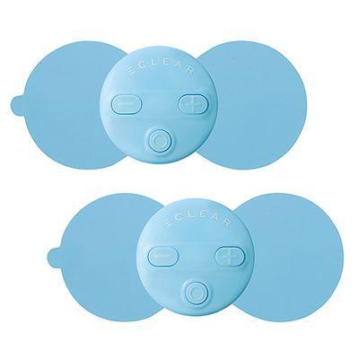 エレコム 家庭用低周波治療器/エクリアリフリー/2個入り/ブルー HCM-FP01BU2
