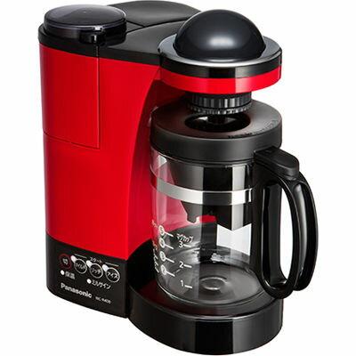 パナソニック コーヒーメーカー 5カップ分 Wドリップ NC-R400-R