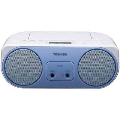 東芝 CDラジオーラジオ TY-C150-L
