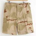 その他 アメリカ軍 BDU カーゴショートパンツ/迷彩服パンツ【XLサイズ】 リップストップ 3カラーデザート【レプリカ】 ds-311896